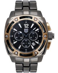 Andrew Marc - Mens Twotone Chronograph Watch - Lyst