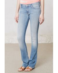 Mother Runaway Skinny Flare Jeans - Lyst