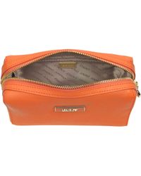 DKNY - Saffiano Leather Cosmetic Case - Lyst