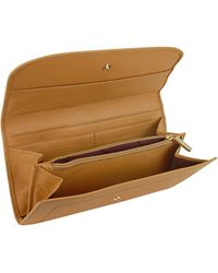 Moreschi - Signature Leather Continental Wallet - Lyst