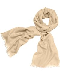 Tory Burch All Over T Jacquard Scarf - Lyst