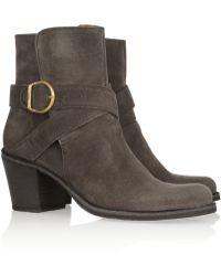 Fiorentini + Baker Nubis Distressed nubuck Boots - Lyst