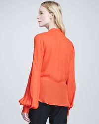 L'Agence - Zipfront Cape - Lyst