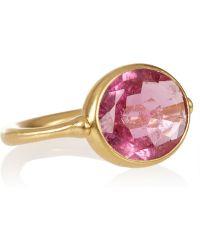 Marie-hélène De Taillac - 22karat Gold Rubellite Ring - Lyst