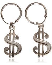 Saint Laurent - Dollar Drop Earrings - Lyst