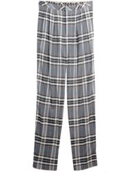Sea - Plaid Trousers - Lyst