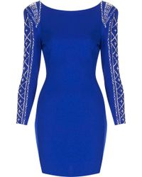 Topshop Dionne Dress  - Lyst