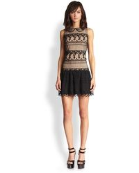 Alice + Olivia Peri Lace Dress - Lyst