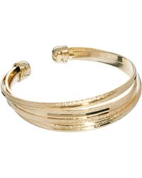 ASOS Collection Limited Edition Textured Cuff Bracelet - Lyst