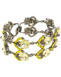 ASOS Collection Limited Edition Premium Ornate Jewel Bracelet - Lyst