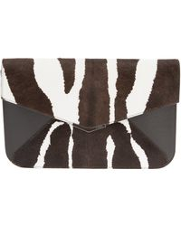Fendi Envelope Clutch - Lyst