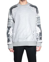 Givenchy Sweatshirt Printed Cotton - Lyst
