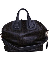 Givenchy Nightingale Medium Bag Faux Pony - Lyst
