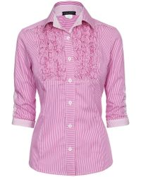 James Lakeland - Cotton Shirt - Lyst