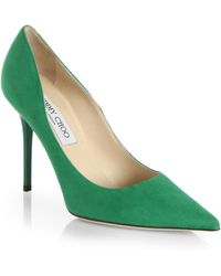 Jimmy Choo | Abel Suede Pumps | Lyst