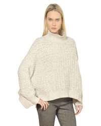 Stella McCartney Wool Knit Sweater - Lyst