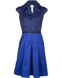 Akris Punto Colorblock Dress - Lyst
