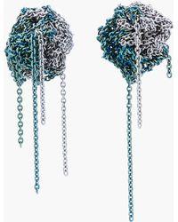 Arielle De Pinto - Two Tone Bead Earrings - Lyst