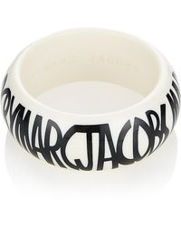 Marc By Marc Jacobs - Key Items Jacobson Logo Bangle - Lyst