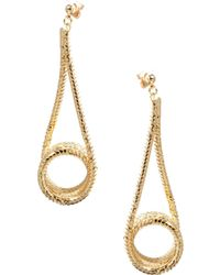 ASOS Collection Limited Edition Chain Swing Earrings - Lyst