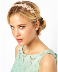ASOS Collection Limited Edition Paisley Chain Hairband - Lyst