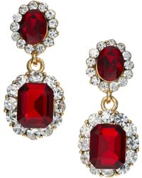 ASOS Collection Limited Edition Vintage Look Jewel Earring - Lyst