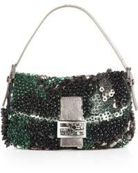 Fendi Paillettes Shoulder Bag - Lyst