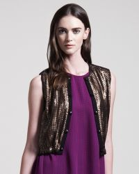 Kelly Wearstler - Sequined Jazz Vest - Lyst