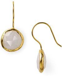 Coralia Leets Opalite Mini French Wire Earrings