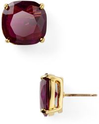 Kate Spade Small Square Stud Earrings - Lyst