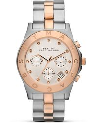 Marc By Marc Jacobs Blade Chrono Bracelet 40mm - Lyst