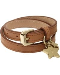 Mulberry | Double Wrap Star Charm Bracelet | Lyst