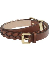 Mulberry Womens Braided Belt - Lyst