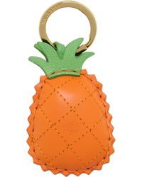 Mulberry O Pineapple Keyring - Lyst