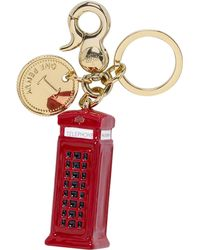Mulberry Telephone Booth Keyring - Lyst