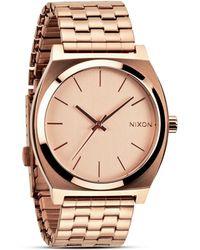 Nixon The Time Teller Watch, 43Mm - Lyst