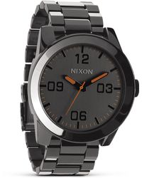 Nixon The Corporal Ss Watch, 48Mm - Lyst