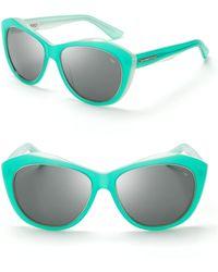 Rebecca Minkoff - Leonard Oversize Geometric Sunglasses - Lyst