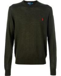 Ralph Lauren Blue Label - Merino Sweater - Lyst