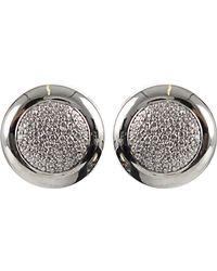 Tamara Comolli - Sloppy Pavé Diamond Earrings - Lyst