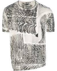 Anntian - Edgy Printed T-shirt - Lyst