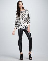 Kelly Wearstler - Womens Skinny Faux Leather Trousers - Lyst