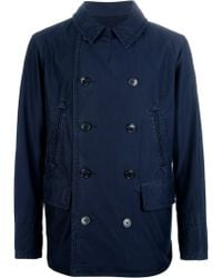 Ralph Lauren Blue Label - Doublebreasted Peacoat - Lyst