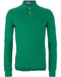 Ralph Lauren Blue Label - Long Sleeve Polo Shirt - Lyst