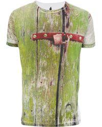 Sangue - Wooden Door T-Shirt - Lyst