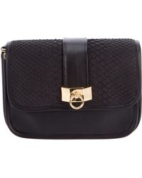 Philippe Roucou - Python Skin Shoulder Bag - Lyst