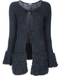 Vicedomini - Knitted Jacket - Lyst