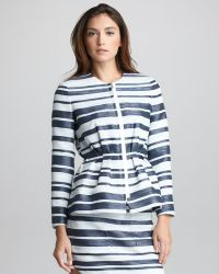 3.1 Phillip Lim - Womens Spacedye Striped Suit Jacket - Lyst