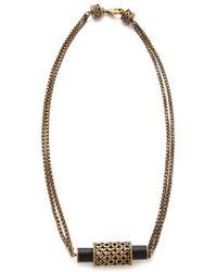 A Peace Treaty - Rebianae Onyx Necklace - Lyst