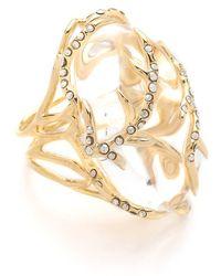 Alexis Bittar - Ophelia Vine Encased Ring - Lyst
